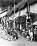 Picture of Devon - Lynmouth, The Rising Sun c1951 - N403