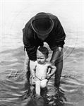 Picture of Misc - Seaside Father & Son c1900s - N1145