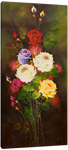 Picture of Flowers - Roses - Multi-coloured Tall Bunch - O022